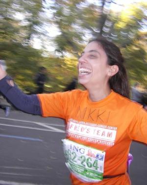 Mile 25 NYC Marathon 2011